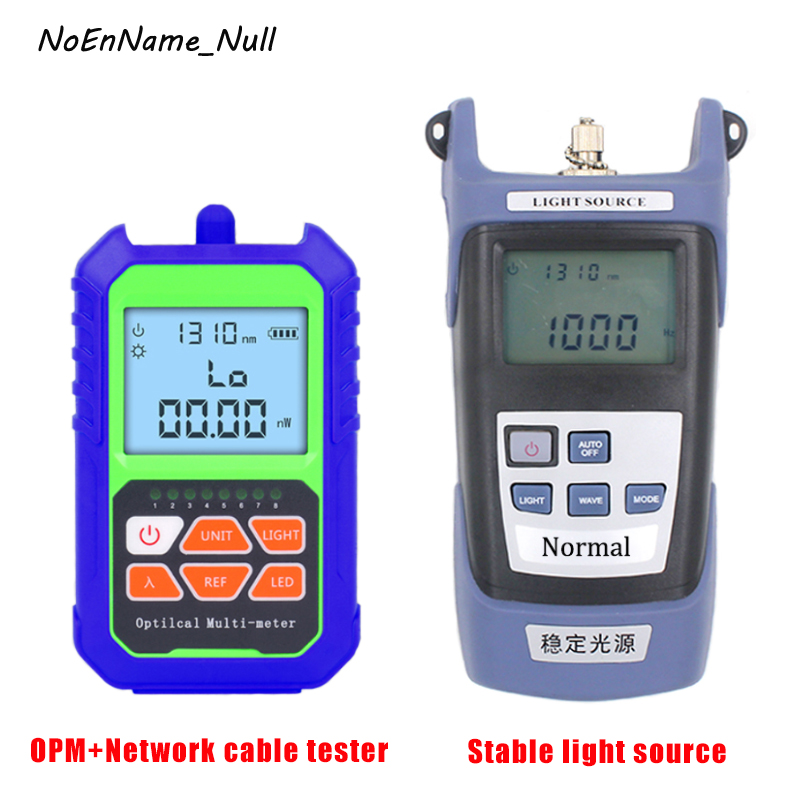 Portable Mini Fiber Optical Power Meter Built in RJ45 Network test port ,and Handheld Stable light source Fiber Optic Cable TestPortable Mini Fiber Optical Power Meter Built in RJ45 Network test port ,and Handheld Stable light source Fiber Optic Cable Test