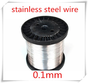100meters 0.1mm stainless steel wire hard condition,SUS304,,bright steel wire