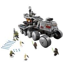 LEPIN 05031 Star Wars Clone Turbo Tank 75151 Building Blocks STAR WARS Toy 05031 Boys Toys Birthday Gift