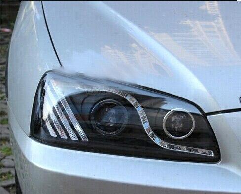 HID, 2004 ~ 2010, style de voiture, phare Elantra, Solaris, accent, Elantra, Genesis, i10, i20, santa fe, lantra; phare Elantra - 4