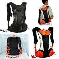 Motocross Off Road Mountain Bike Cycling Backpack Hydration Pack Water Bag Orange / Black