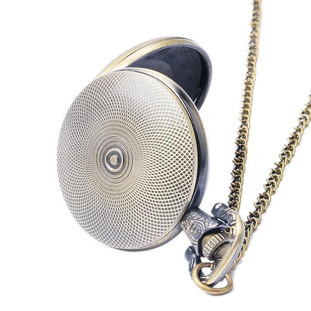 New Black Fullmetal Alchemist Pocket Watch Quartz Necklace Pendant Watch Relogio De Bolso Gift For New Year