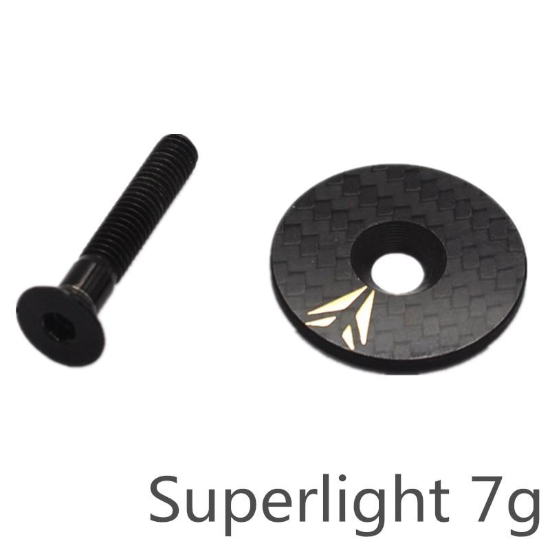 """Bike Headset Stem Top Cap For 28.6mm 1 1//8/"""" Steerer Fork Cover Captain USA Flag"""