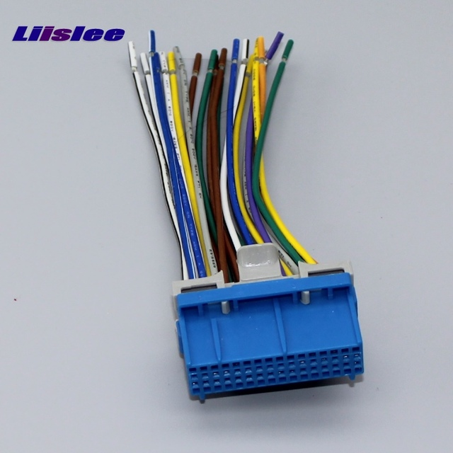 Liislee Car CD DVD Player Power Wire Cable Plug For Cadillac Catera