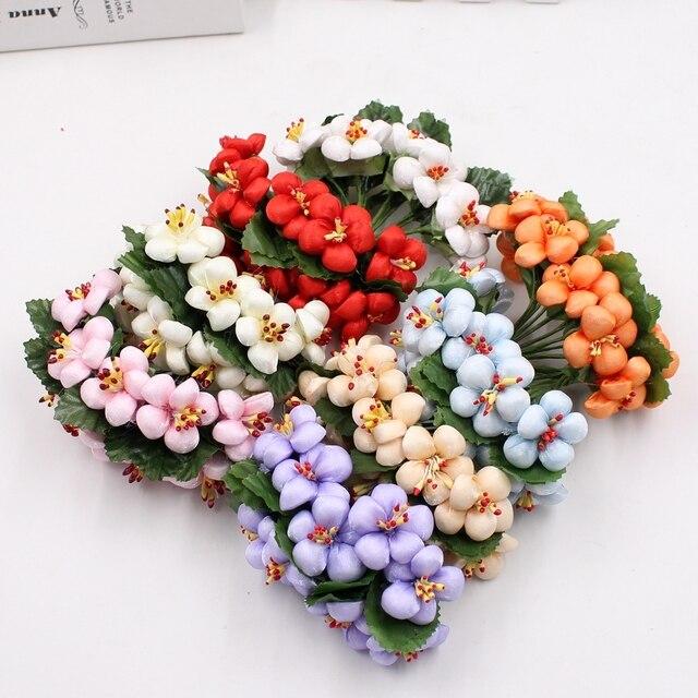 Aliexpress.com : Buy 10pcs/lot 3cm Silk Cotton Artificial Flower ...