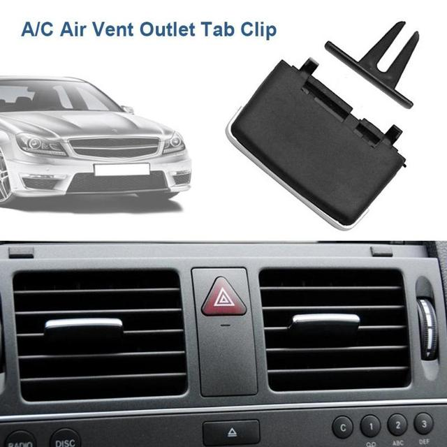 VODOOL Car A/C Air Vent Tab Clip Automobiles Air Conditioner Outlet