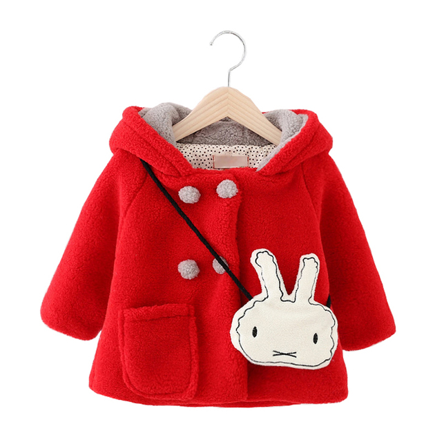 2016 New Kids Clothes Girls Jacket and Coats Winter Spring Children Jackets Outerwear Baby Girls Clothes Infant Clothing Winter