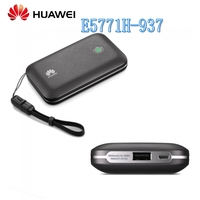 Unlock 300Mbps HUAWEI E5771H 937 4G LTE Power Bank WiFi Router With Sim Card Slot Support Worldwide