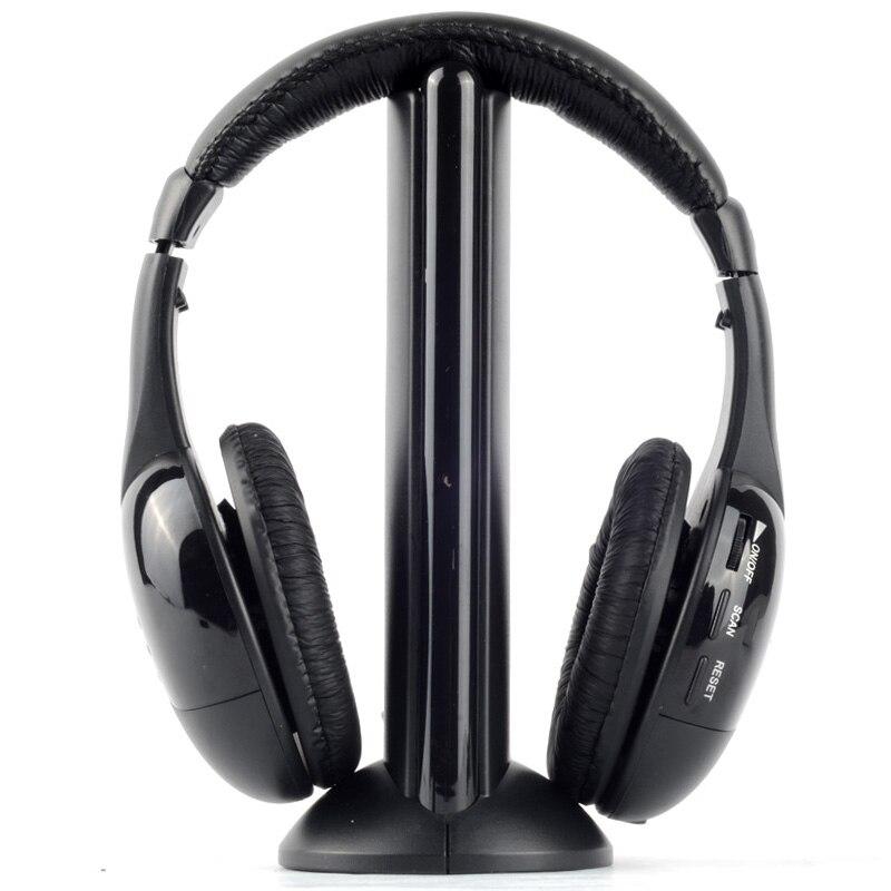 Wireless Headphones Headset MH2001 MP3 MP4 PC CD DVD Audio TV FM Radio Earphones & Headphones T0.11  2016 wireless headphones headset mh2001 mp3 mp4 pc cd dvd audio tv fm radio earphones