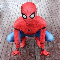Marvel legends spiderman للوطن دعوى 2099 الكبار سبايدرمان زي الاطفال الرجل العنكبوت قناع حزب تأثيري الملابس عيد الطفل