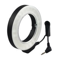 W48 Ring Flash 200Lm Led Macro Ring Flash Lighting With Ring Diffuser Filter 49Mm/52Mm/55Mm/58Mm/62Mm/67Mm For Dslr Camera(Us