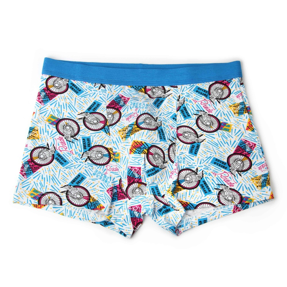 Bamboo Fiber Underwear Men Soft Boxer Shorts Panties Comfortable Breathable Underpants 28