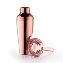 Rose 550ml Cocktail Shaker With Ice Strainer
