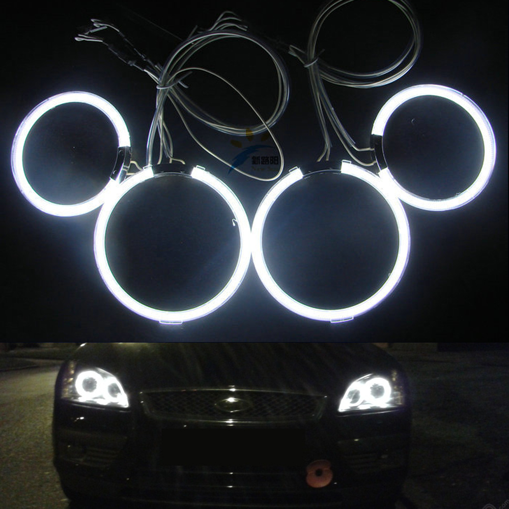 For Ford Focus II Mk2 2004 2005 2006 2007 2008 Europe 7000K Xenon White angel eyes Ultrabright illumination CCFL Angel Eyes kit цены