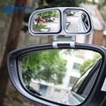 SHEATE 1 PCS/2 PCS Car Blind Spot Espelho Retrovisor espelhos laterais Duplas ajustável de 360 graus Grande angular Traseiro acessórios vista