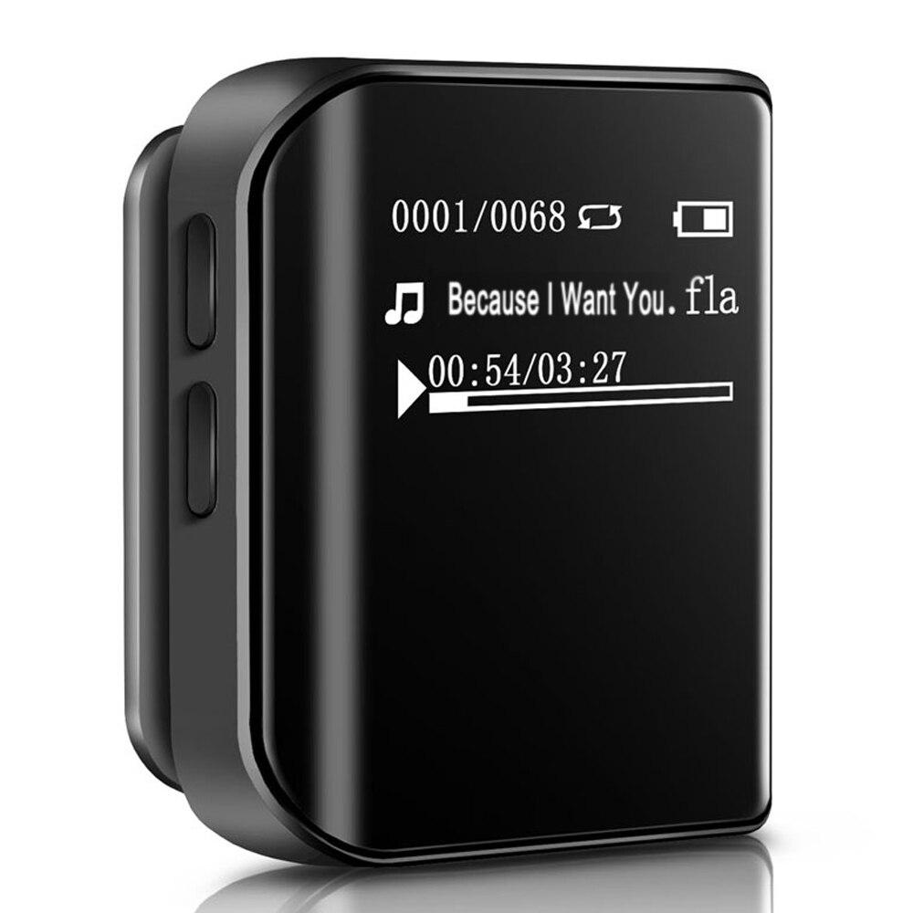 Mini 8 GB Lecteur MP3 Clip Sport MP3 Radio FM Lecteur MP3 lecteur de Musique Métal MP3, WMA, APE, FLAC benjie k10