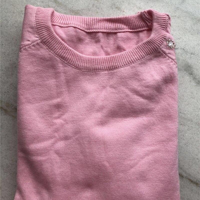 Encolure Pulls Tricoté Sexy Pièce Ensemble Et Hiver 2 Khaki Pull gray Femmes pink Pièces Longues Automne Deux Ensembles Costume Outfit Pantalons Manches wd7qw0X8c