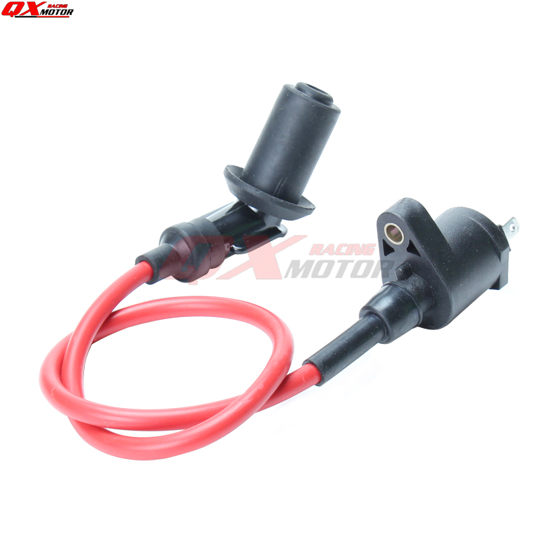 Dirt Pit Bike Ignition Coil Spark Plug Wire 70 110 125 150CC Motocross NEW