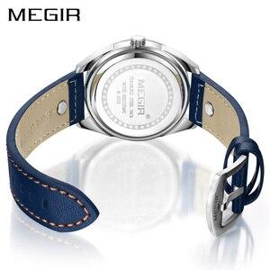 Image 3 - MEGIR kreatywne zegarki wojskowe mężczyźni luksusowa marka zegarek kwarcowy Sport Wrist Watch mężczyźni Relogio Masculino Erkek Kol Saati