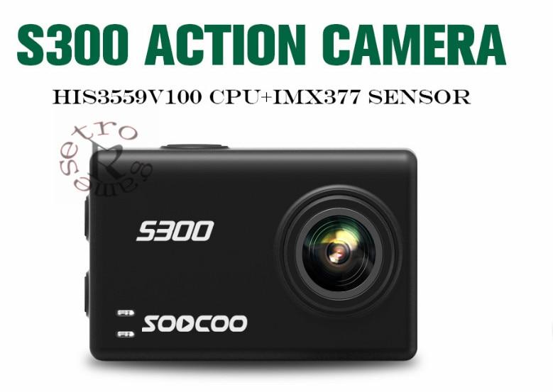 Unterhaltungselektronik Sport & Action-videokamera Imx377 4 Karat 30fps Eis Wifi 12mp Cmos Remote Externe Mic Sport Cam Weich Und Leicht Sparsam Soocoo S300 Action Kamera 2,35 touch Lcd Hi3559v100