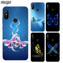 Printed Silicone Case For Xiaomi Xiomi Redmi 4 4A 4X 5 5A Plus 6 Pro 6A S2 Note 2 3 Heart Cover Cartoon Butterfly