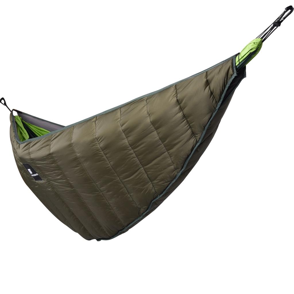 Outdoor Sleeping Underquilt Full Length Hammock Blanket Sleeping Gear for Backpacking Camping Backyard