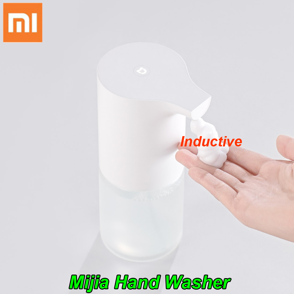 все цены на On sale 100% Original Xiaomi Mijia Auto Induction Foaming Hand Washer Wash Automatic Soap 0.25s Infrared Sensor For Smart Homes онлайн
