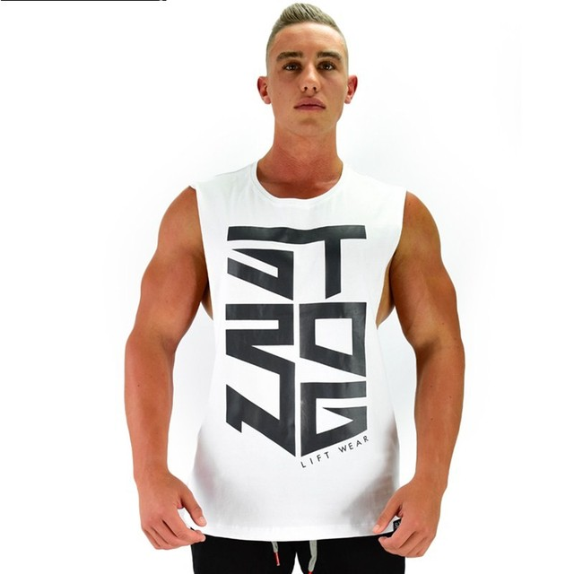 4b646cf7c0b 2017 Men Summer gyms Fitness bodybuilding Hooded Tank Top fashion mens  Crossfit clothing Loose breathable sleeveless shirts Vest