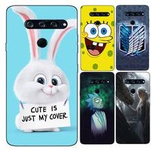 Case For LG V40 ThinQ LM-V405UA V405QA7 Cute Cartoon Paintin