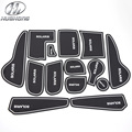 For Hyundai Solaris anti slip mat sticker Anti-Slip gate slot pad door carpets Interior decoration accessory 2011-2015