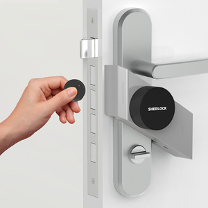 Image 2 - Sherlock Wireless Door Lock Keyless Smart Lock Fingerprint + Password Integrated Electronic Lock Bluetooth Control With 1Pc Key