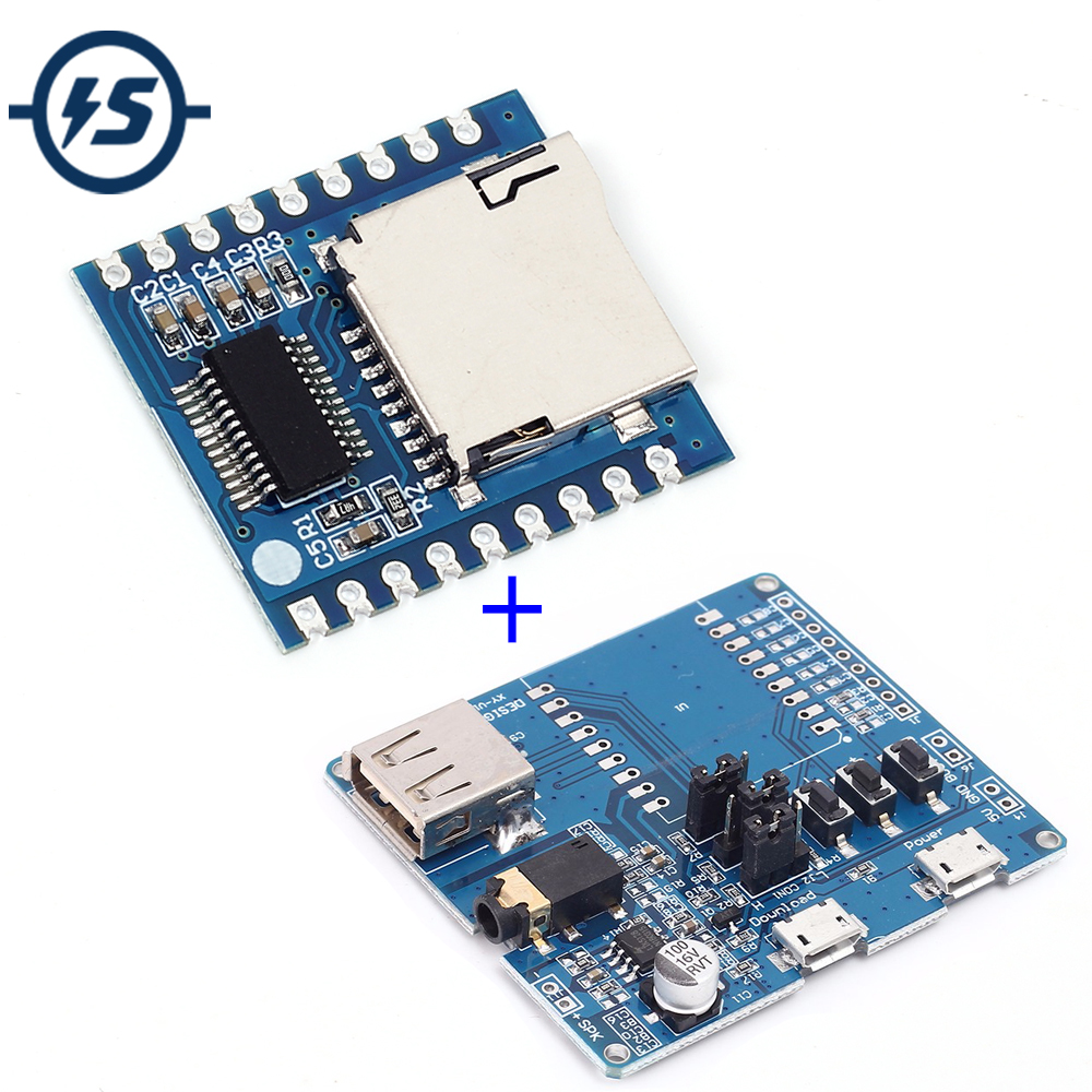 Mp3 Player Module Mini Audio Voice Board By8301 Circuit Schematic Diagram Basic Usb For Xy V17b Controller Shield Support