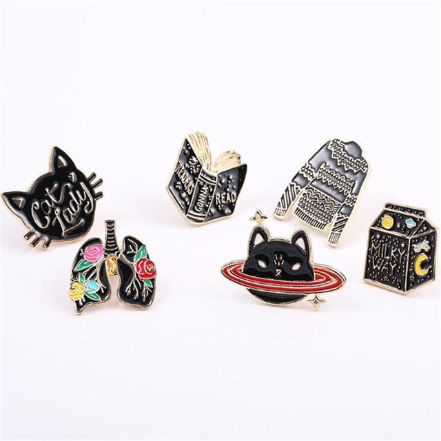 free shipping fashion women New Jewelry wholesale New heart graphics collar needle brooch
