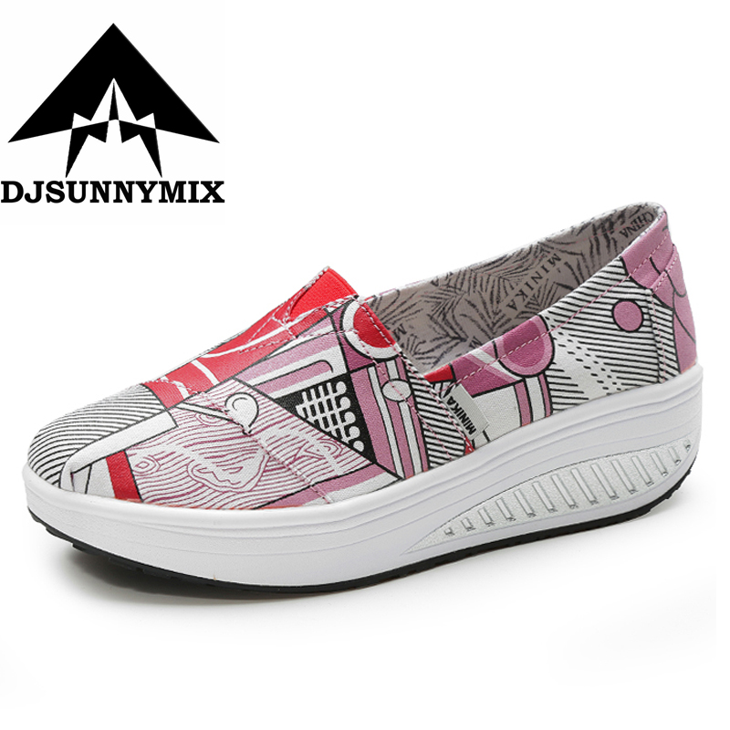 DJSUNNYMIX 2018 Women Shoes Mesh Breathable Summer Shoes Flats Women Loafers Casual Swing Shoes Women Flootwear free shipping candy color women garden shoes breathable women beach shoes hsa21