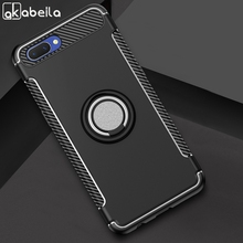 AKABEILA Hybrid Hard Armor Phone Cases For OPPO F5 Case Cover A73 A59 A79 A83 Plus Coque Fundas 360 Finger Ring Stand Holder