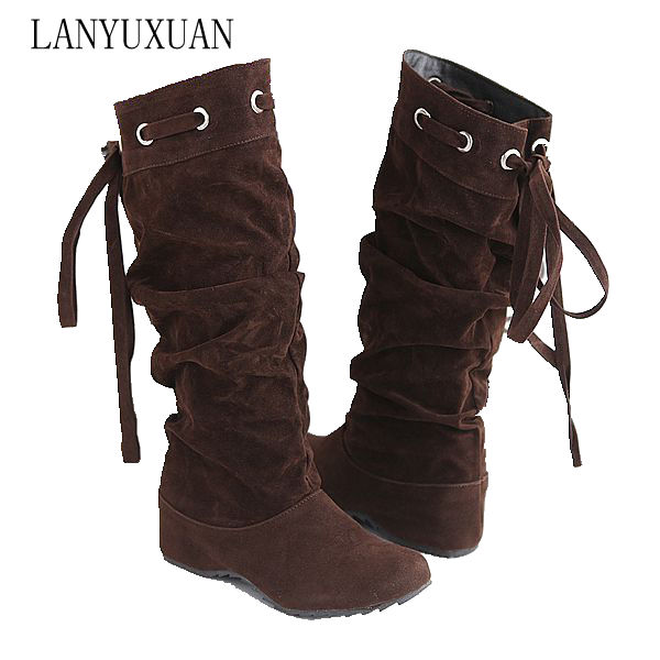Winter Boots Style Thigh High Women Woman Femininas Knee Boots Botas Masculina Zapatos Botines Mujer Chaussure Femme Shoes A-1 fashion women snow ankle boots fur bota femininas zapatos mujer botines botte chaussure femme botas winter woman shoes flat heel