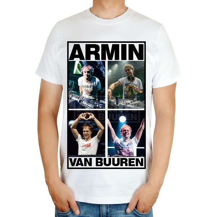 4 вида Armin Van Buuren бренд певица диджейская футболка белый mma с принтом хлопковая футболка музыка живой Фитнес camisetas hombre - Цвет: Бежевый