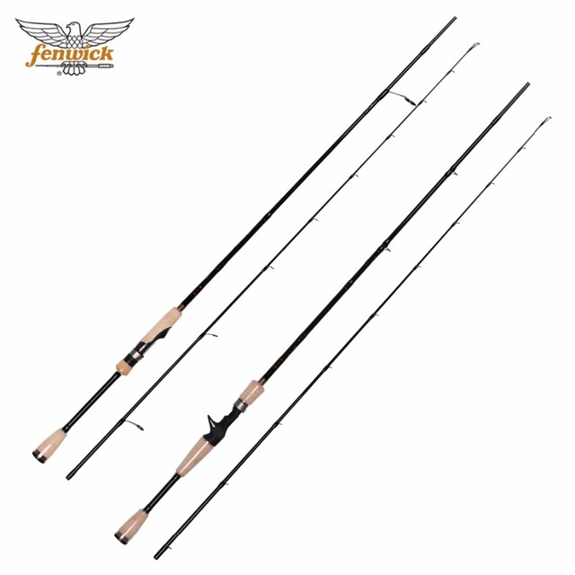 US $99 2  Original Fenwick HMG GS66ML GS64L GS66M GS70MH GT66M Spinning  casting Fishing Rod 1 91M1 98M 2 13M Carbon bass Lure Rod-in Fishing Rods  from