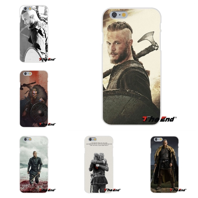 For iPhone X 4 4S 5 5S 5C SE 6 6S 7 8 Plus Galaxy Grand Core Prime Alpha Original Ragnar Lothbrok Vikings Soft Silicone Case