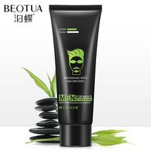 Erkekler derin temizlik bambu kömür cilt bakımı yüz temizleyici nemlendirici siyah nokta yüz bakımı temizleyici