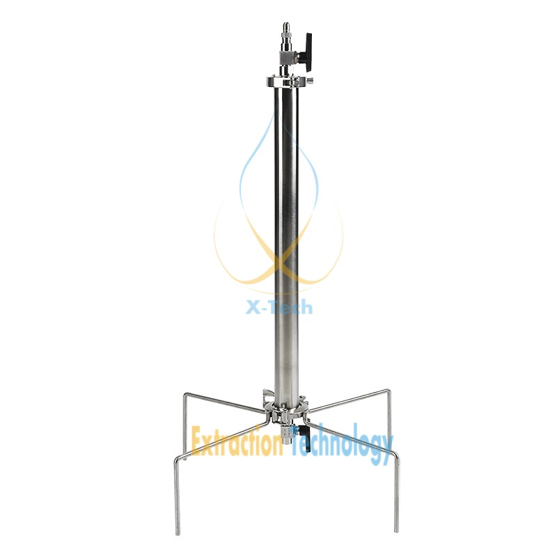 135g Closed Column Pressurized Extractors  BHO Extractor Kit. Extractor Stainless Steel 304.