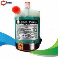MP-6R en plastique résistance aux acides entraînement magnétique pompe à eau Production d'eau Pure pompe électromagnétique 220V 50HZ