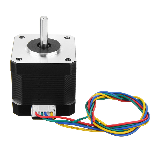 Nema17 0.4Nm 42mm 1.68A Stepper Motor para CNC Router Atuador Linear Do Motor de Passo De 1.8 Graus