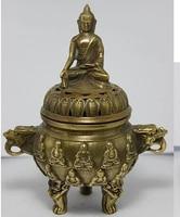 [Alt handwerk] Sammlung Bronze Statuen Drache räucherstäbchen/weihrauchfass (A0314)-in Statuen & Skulpturen aus Heim und Garten bei