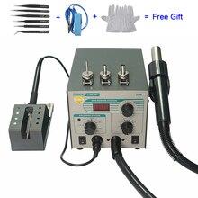 Quick 706W+ 110V 220V Hot Air Gun BGA Rework Solder Station