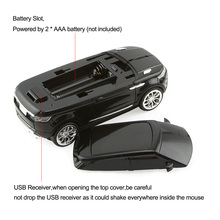 Cool SUV Wireless Mouse