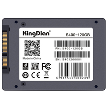 KingDian 2.5″ 7mm SATA III 6Gb/s Original Brand SSD Internal Solid State Drive for Desktop Laptop PCs S400 120GB