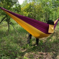Garden Swing Hammock Camping Outdoor Picnic Nap Beds 2 People Portable Patchwork Hunting Leisure Swing Hang