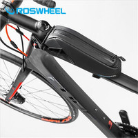 ROSWHEEL Bycicle Bag 2019 Rainproof 1680D N Bicycle Tube Front Top Bag MTB Road Bike Saddle Bag Cycling Pouch Accessories