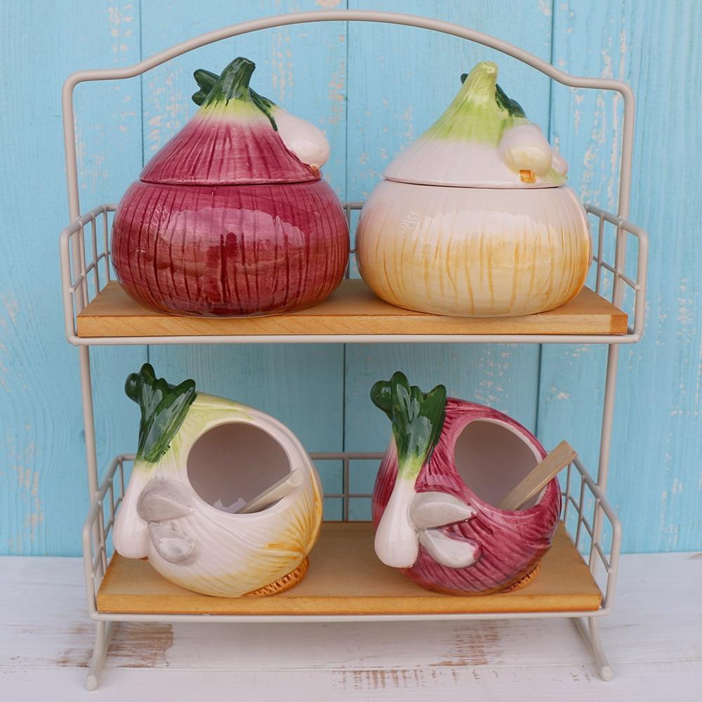 Kitchen appliance ceramic spice jar